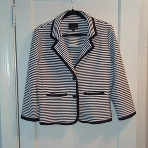 Cynthia Rowley Striped Blazer